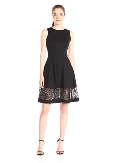 French Connection Women's Beau Viscose Dress black