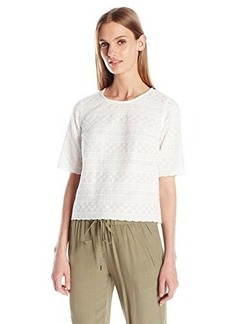 French Connection Women's Bixa Broderie Top