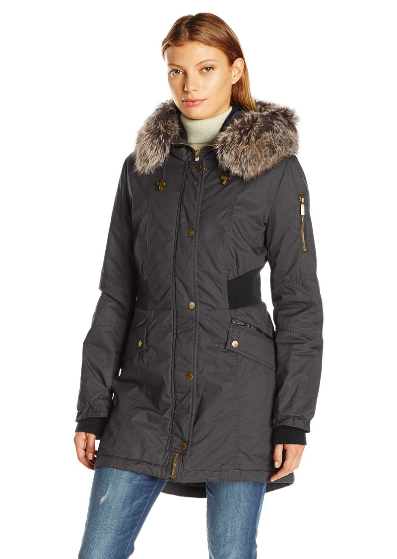 French Connection Women's Bomber Parka