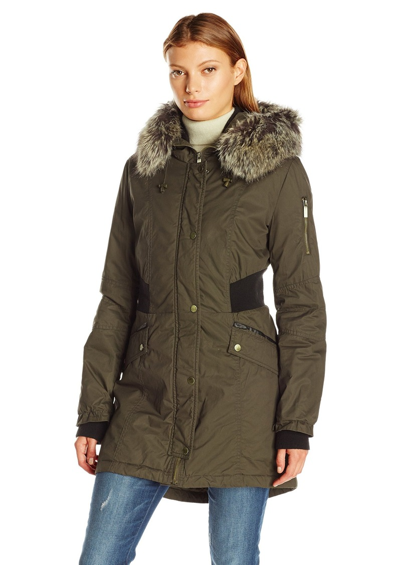 French Connection Women's Bomber Parka  L