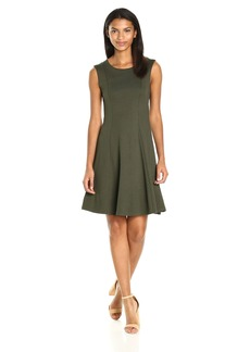 French Connection Women's Bottero Ponte Plain Dress