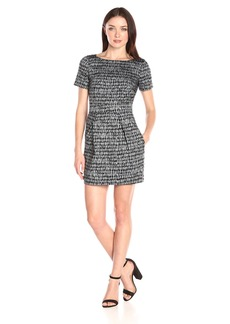 French Connection Women's Canyon Sands Short Sleeve Dress