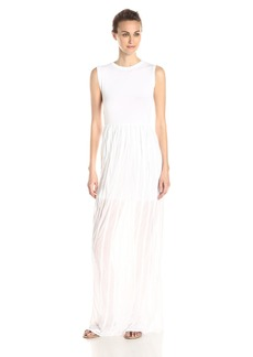 French Connection Women's Carnival Ruffle Sleeveless Maxi Dress
