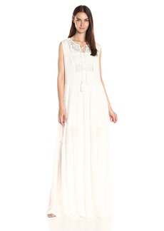 French Connection Women's Castaway Lace Sleeveless Maxi Dress