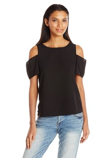 French Connection Women's Classic Crepe Light Blouse  XS