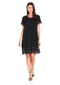 French Connection Women's Classic Crepe Light Woven Dress  8