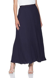 French Connection Women's Classic Crepe Light Woven Pleated Skirt