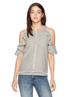 French Connection Women's Clea Cotton Top