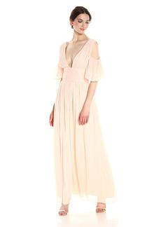 French Connection Women's Constance Drape Maxi Dress