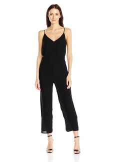 French Connection Women's Copley Crepe Solid Jumpsuit