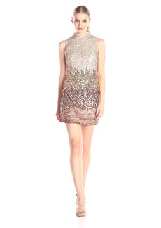French Connection Women's Cosmic Beam Sleeveless Sequin Dress