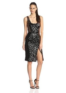 French Connection Women's Cosmic Sparkle Tank Dress