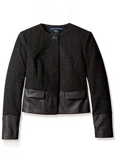French Connection Women's Cosmic Tweed Blazer   US