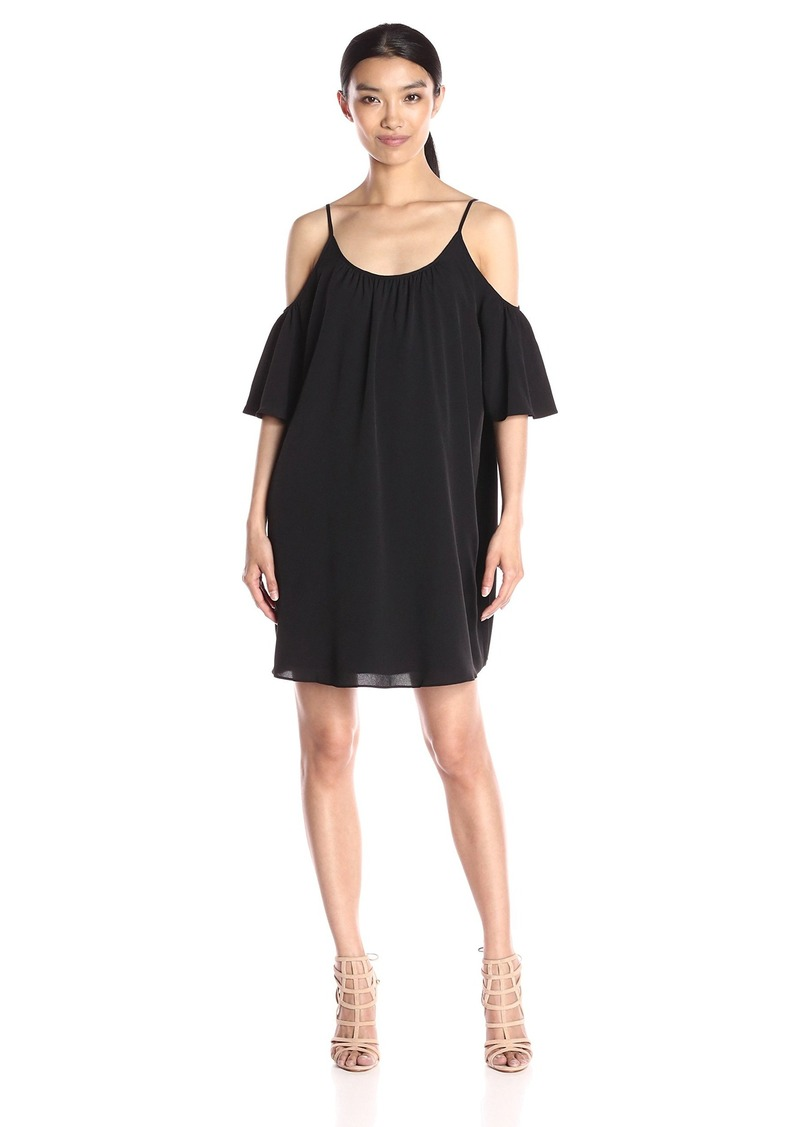 French Connection Women's Cut Out Shoulder Polly Dress
