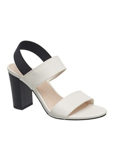 French Connection Women's Dakota Double Band Sling Back High Heel Sandals Women's Shoes