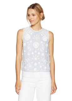 French Connection Women's Dalia Sheer Top