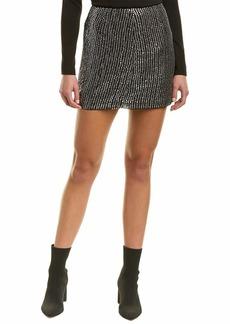French Connection Women's Desiree Disco Sequin Mini Skirt