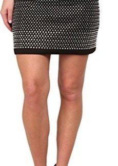 French Connection Women's Diamond Rock Jersey Skirt