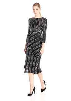 French Connection Women's Diana Swirl Longsleeve Maxi Dress