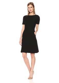 French Connection Women's Dixie Texture Cap Sleeve Dress