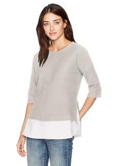 French Connection Women's Dixie Texture Top  S