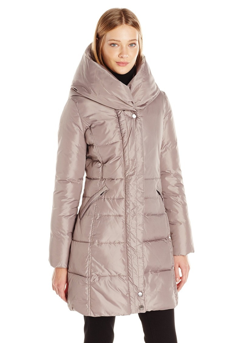 69a797e36e4 French Connection French Connection Women's Down Coat with Pillow ...
