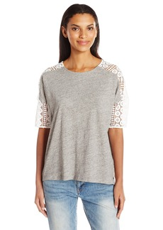French Connection Women's Dune Lace Top  M