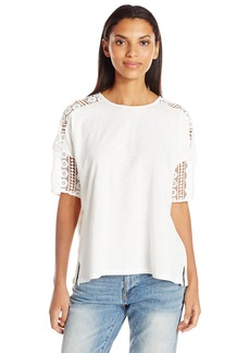 French Connection Women's Dune Lace Top  XS