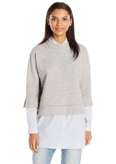 French Connection Women's Dune Mix Sweat Top  M