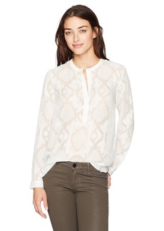 French Connection Women's Edna FIL De Coupe Blouse  L