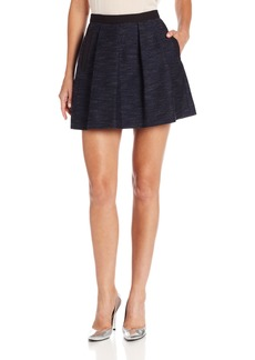 French Connection Women's Electric Fuzz Skirt