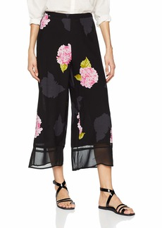 French Connection Women's Eleonore Printed Wide Leg Pants