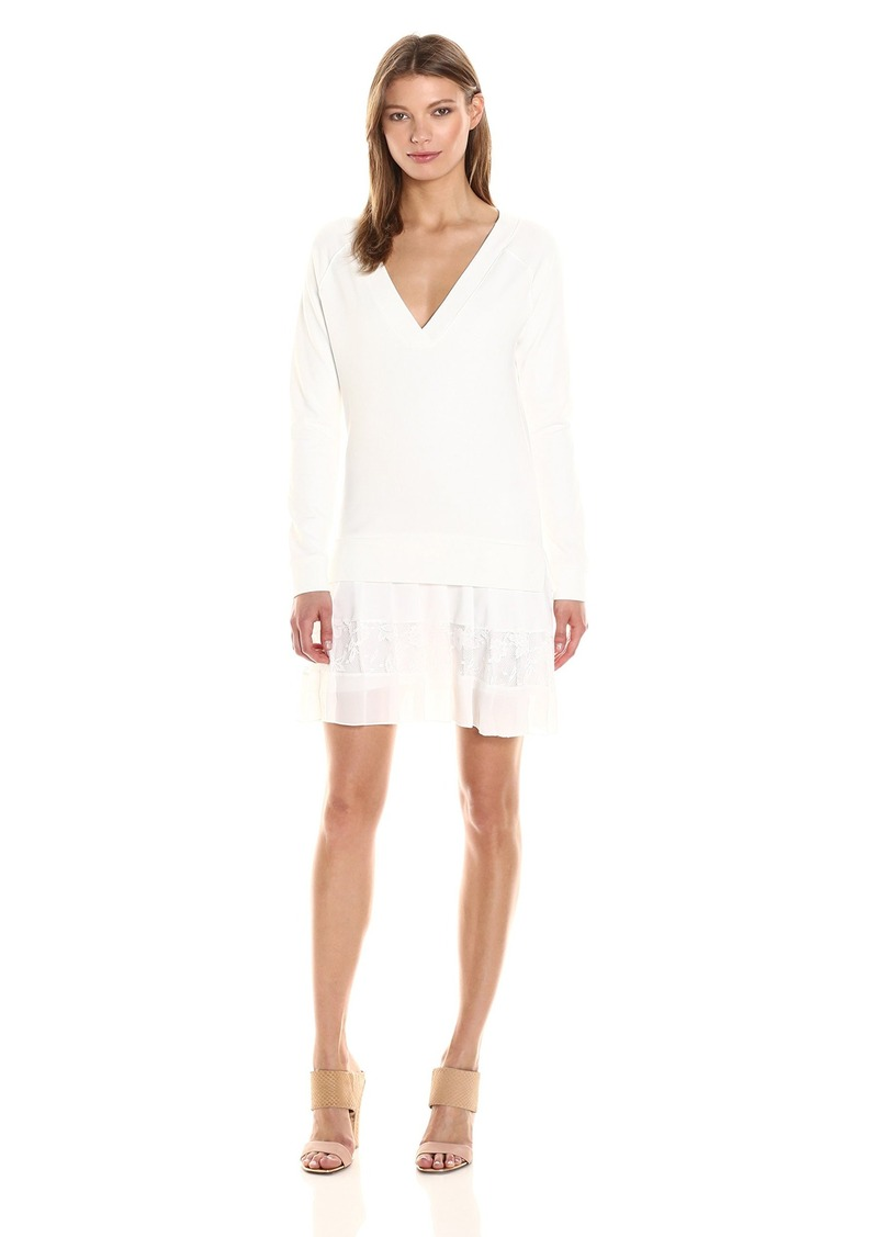 French Connection Women's Eliza Jersey Sweatshirt Dress