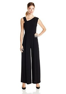French Connection Women's Emma Crepe Sleeveless Jumpsuit