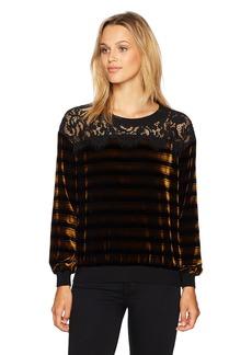 French Connection Women's Emma Stripe Sweatshirt