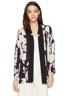 French Connection Women's Enoshima Suiting Loose Boyfriend Fit Open Blazer