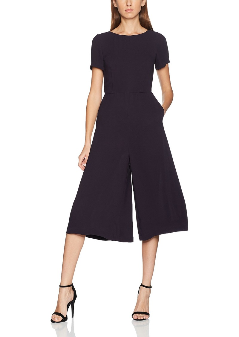 French Connection Women's Ester Crepe Jumpsuit