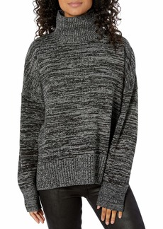 French Connection Women's Faray NEP Sweater Gray/Black Space