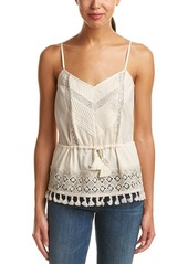 French Connection Women's Florence Lace Strappy Top
