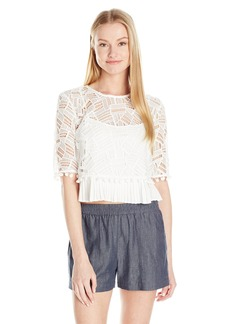 French Connection Women's Freddy Lace Top