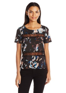 French Connection Women's Ft Cornucopia Polly Top