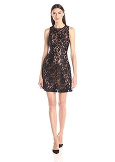 French Connection Women's Heartbreaker Sleeveless Lace