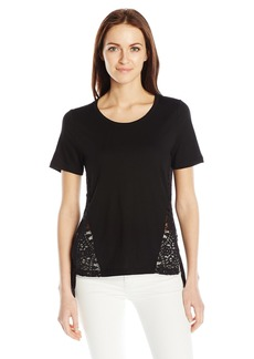 French Connection Women's Hopper Lace Top  L