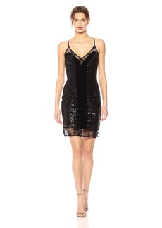 French Connection Women's Iris Sequin Mini Dress