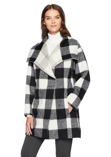 French Connection Women's Jackie Mix Coat