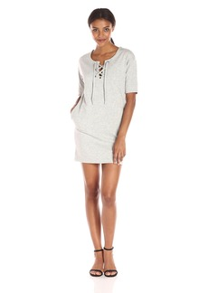 French Connection Women's Jamie Luxe Lace up Dress