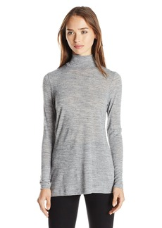 French Connection Women's Jimmy Luxe Long Sleeve High Neck Top
