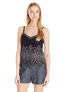 French Connection Women's Josephine Cotton Crop Top