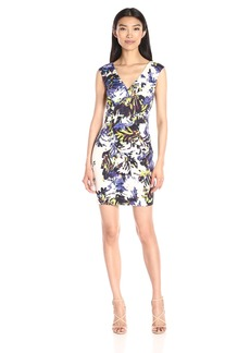French Connection Women's Kiki Palm Cotton Dress