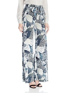 French Connection Women's Lala Palm Drape Pants